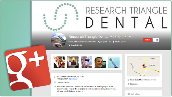 google+ for dentists
