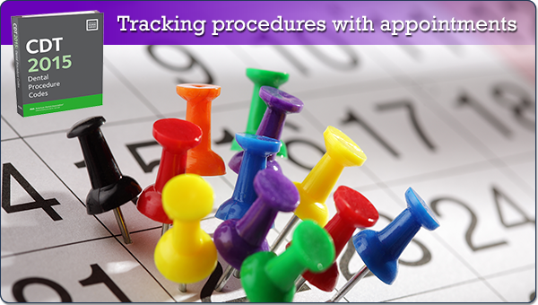 paperless tip tracking procedures with appointments